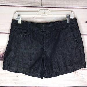 LOFT Classic Denim Chino Shorts